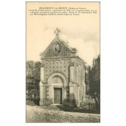 carte postale ancienne 37 BEAUMONT-LA-RONCE. Chapelle Saint-Armel