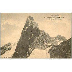 carte postale ancienne 05 MASSIF DE LA MEIJE vue de l'Arête Est du Rateau