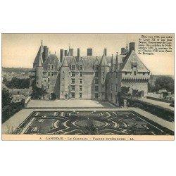 carte postale ancienne 37 LANGEAIS. Château façade