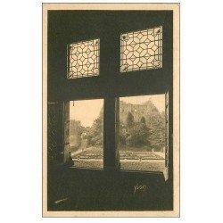carte postale ancienne 37 LANGEAIS. Château vue d'une Fenêtre