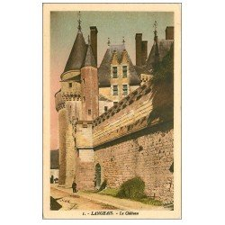 carte postale ancienne 37 LANGEAIS. Château. Ed Harmignies
