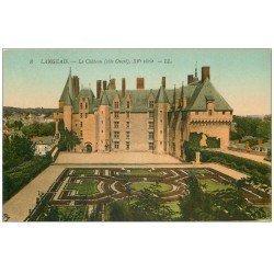carte postale ancienne 37 LANGEAIS. Château. Ouest