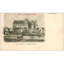 carte postale ancienne 37 LANGEAIS. Le Château vers 1900. Quina