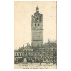 carte postale ancienne 37 LOCHES. Tour Saint-Antoine 1936