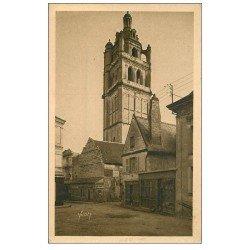 carte postale ancienne 37 LOCHES. Tour Saint-Antoine. Sépia 44
