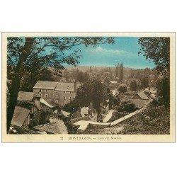 carte postale ancienne 37 MONTBAZON. Côté du Moulin