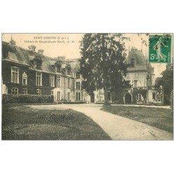 carte postale ancienne 37 SAINT-AVERTIN. Château de Cangé façade Nord (défaut)...