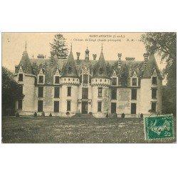 carte postale ancienne 37 SAINT-AVERTIN. Château de Cangé façade Nord Pricipale 1911