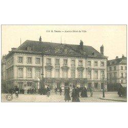 carte postale ancienne 37 TOURS. Ancien Hôtel de Ville
