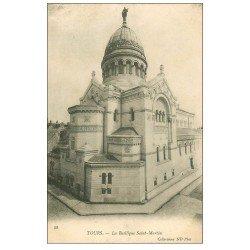 carte postale ancienne 37 TOURS. Basilique Saint-Martin 58