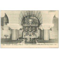 carte postale ancienne 37 TOURS. Basilique Saint-Martin Crypte et Tombeau