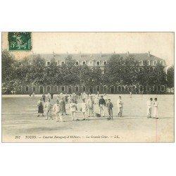 carte postale ancienne 37 TOURS. Caserne Baraguey-d'hilliers 1909