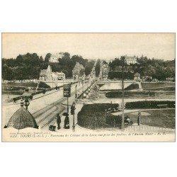 carte postale ancienne 37 TOURS. Coteaux de la Loire