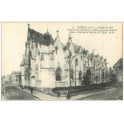 carte postale ancienne 37 TOURS. Eglise 12