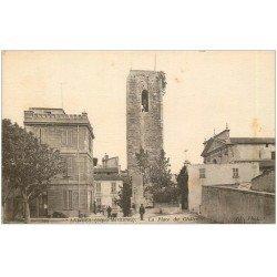 carte postale ancienne 06 ANTIBES. Place du Château 1923