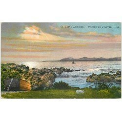 carte postale ancienne 06 ANTIBES. Pointe de l'Ilette