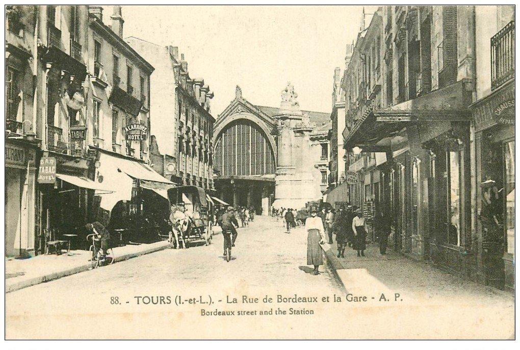 37 TOURS. Rue de Bordeaux Gare
