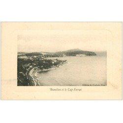 carte postale ancienne 06 BEAULIEU Et le Cap Ferrat (carte molle aux coins)...