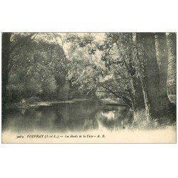 carte postale ancienne 37 VOUVRAY. Bords Cisse