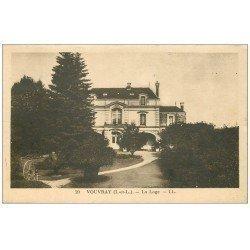 carte postale ancienne 37 VOUVRAY. La Loge
