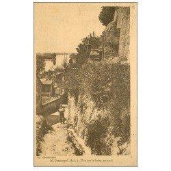 carte postale ancienne 37 VOUVRAY. Loire en Aval 1924
