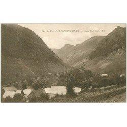 carte postale ancienne 65 ARAGNOUET. Gorge de la Gela