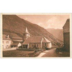 carte postale ancienne 65 ARAGNOUET. L'Eglise