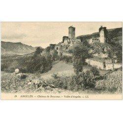 carte postale ancienne 65 ARGELES-GAZOST. Château de Beauceus 14