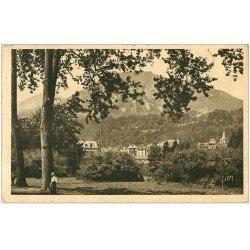 carte postale ancienne 65 ARGELES-GAZOST. Vue du Parc