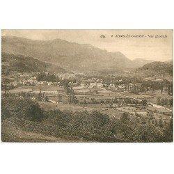 carte postale ancienne 65 ARGELES-GAZOST. Vue générale