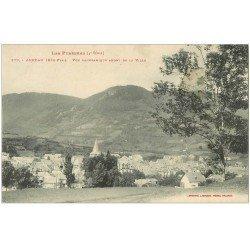 carte postale ancienne 65 ARREAU. En Amont de la Ville 1918
