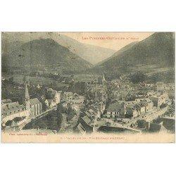 carte postale ancienne 65 ARREAU. Vallée d'Aure 1924