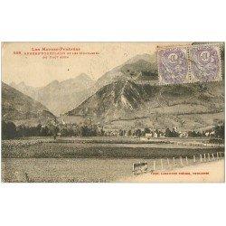 carte postale ancienne 65 ARRENS-POUEYLAUN. Montagnes du Haut Azun