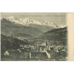 carte postale ancienne 65 ASTE. Vallée de Campan 1916