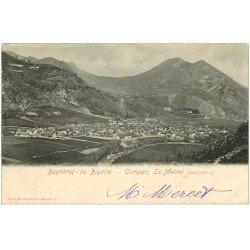 carte postale ancienne 65 BAGNERES-DE-BIGORRE. Campan le Monné 1903