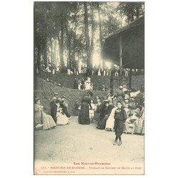 carte postale ancienne 65 BAGNERES-DE-BIGORRE. Concert du Matin au Parc