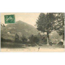 carte postale ancienne 65 BAGNERES-DE-BIGORRE. Le Bédat avec Paysan 1911