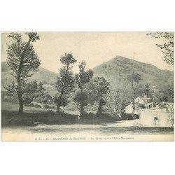 carte postale ancienne 65 BAGNERES-DE-BIGORRE. Le Bédat vu de l'Allée Maintenon