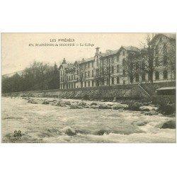 carte postale ancienne 65 BAGNERES-DE-BIGORRE. Le Collège