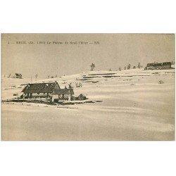 carte postale ancienne 06 BEUIL. Le Plateau en hiver