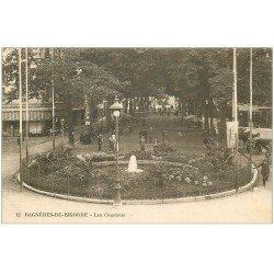 carte postale ancienne 65 BAGNERES-DE-BIGORRE. Les Coustous 1927