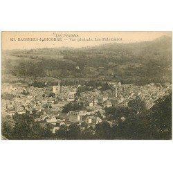 carte postale ancienne 65 BAGNERES-DE-BIGORRE. Les Palomières 1927
