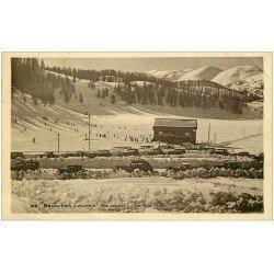 carte postale ancienne 06 BEUIL-LES-LAUNES. Garage Public (légères ondulations)...