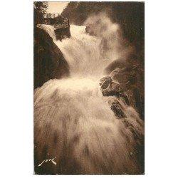 carte postale ancienne 65 CAUTERETS. Cascade de Cerisey 108