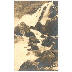 carte postale ancienne 65 CAUTERETS. Cascade de Lutour 10