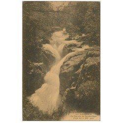 carte postale ancienne 65 CAUTERETS. Cascade du Pas de l'Ours vers 1917