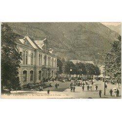 carte postale ancienne 65 CAUTERETS. Casino Place des Oeufs 16