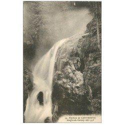 carte postale ancienne 65 CAUTERETS. Gouffre du Cerisey