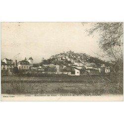 carte postale ancienne 06 CAGNES. Vue générale 1919