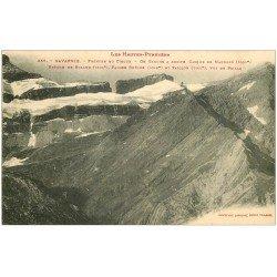 carte postale ancienne 65 GAVARNIE. Fronton du Cirque, Casque Marboré, Brèche et Taillon